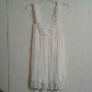 NWT WOMEN'S SZ M GAUZE DRESS